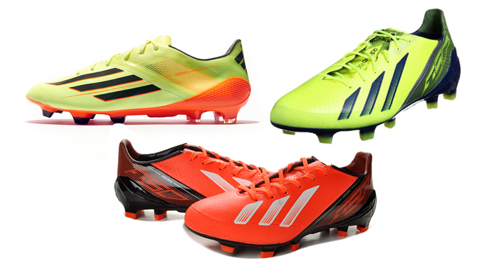 adidas f50 samba green + blue yellow+red 2014